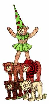 Зимний фестиваль плюшевых медведей