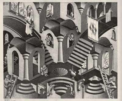 Работы Эшера в Мадриде